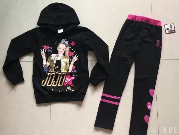 Jojo Siwa meisjes hoodies cartoon sweatshirts tops kleding broek broek outfits