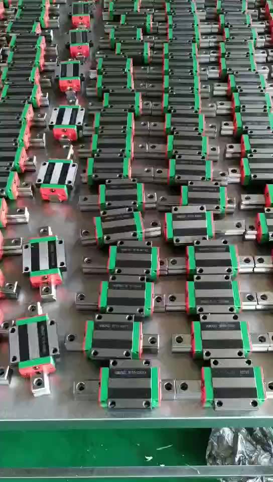 דיוק גבוה Bearing Rail Guideway ליניארי מכונת מדריך לחיתוך השיש מכונות טחינת מכונת HIWIN mgn12 mgn9h