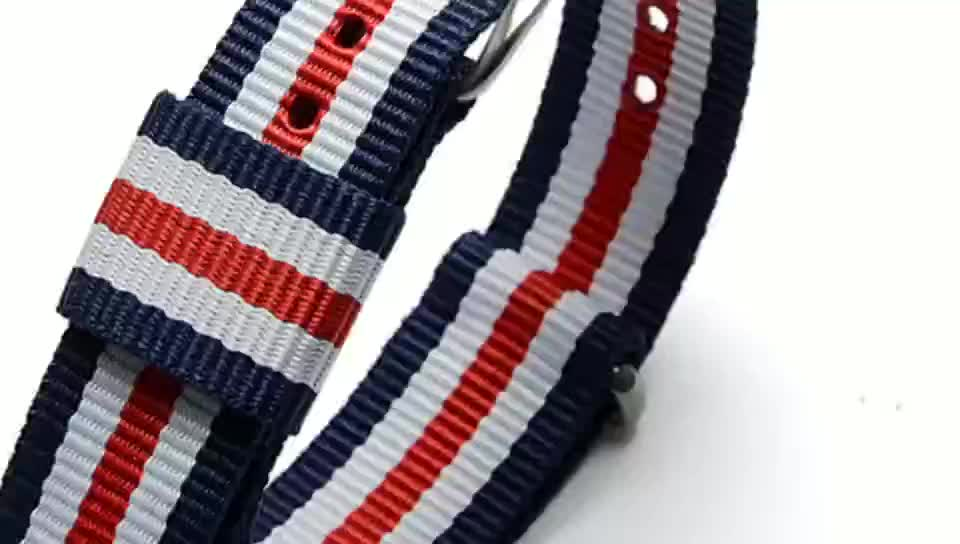 Cheap13mm Nylon Watch Strap 와 Stainless Steel 핀 Buckle