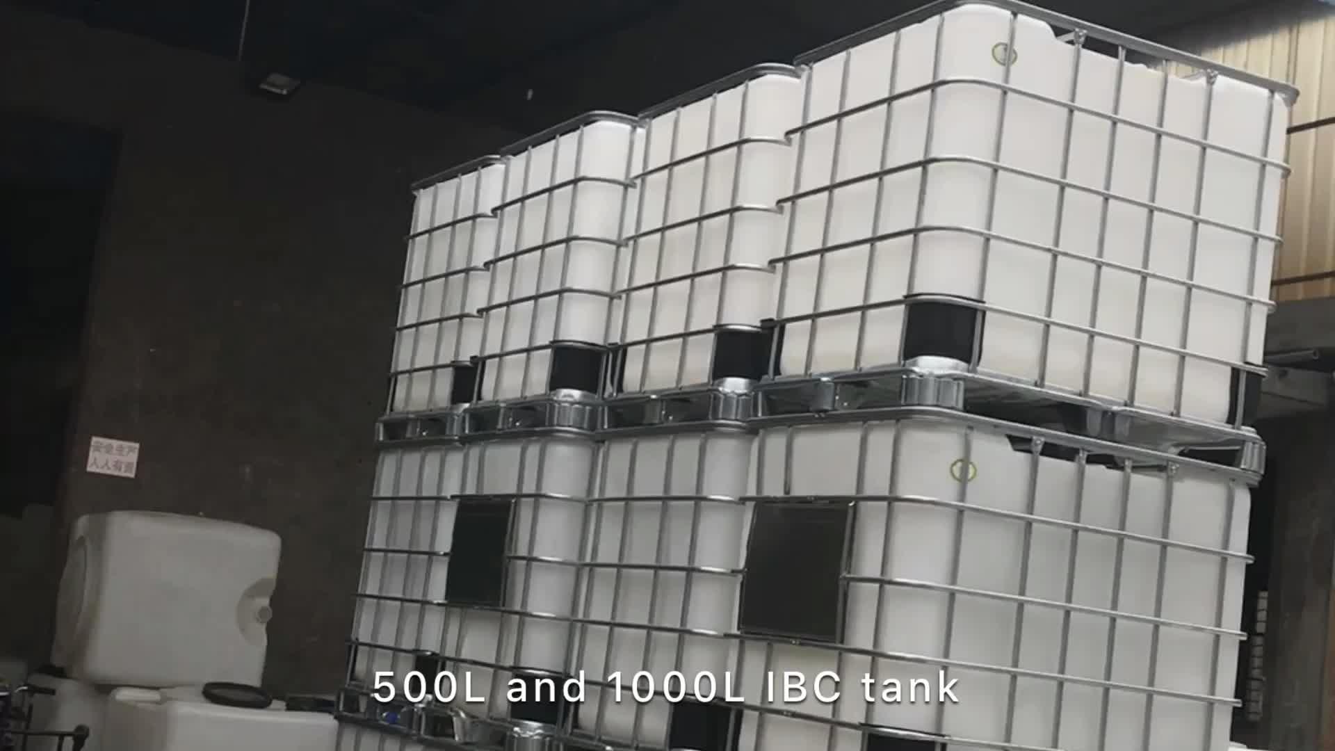 IBC कंटेनर टैंक 1000 लीटर IBC टैंक