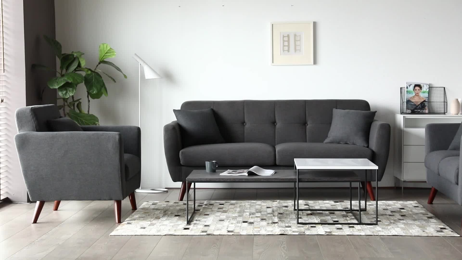 Factory Supply Furniture Office Design 3 Seater Black Fabric Sofa - Buy  Black Fabric Sofa,Fabric Sofa,3 Seater Sofa Product on Alibaba.com