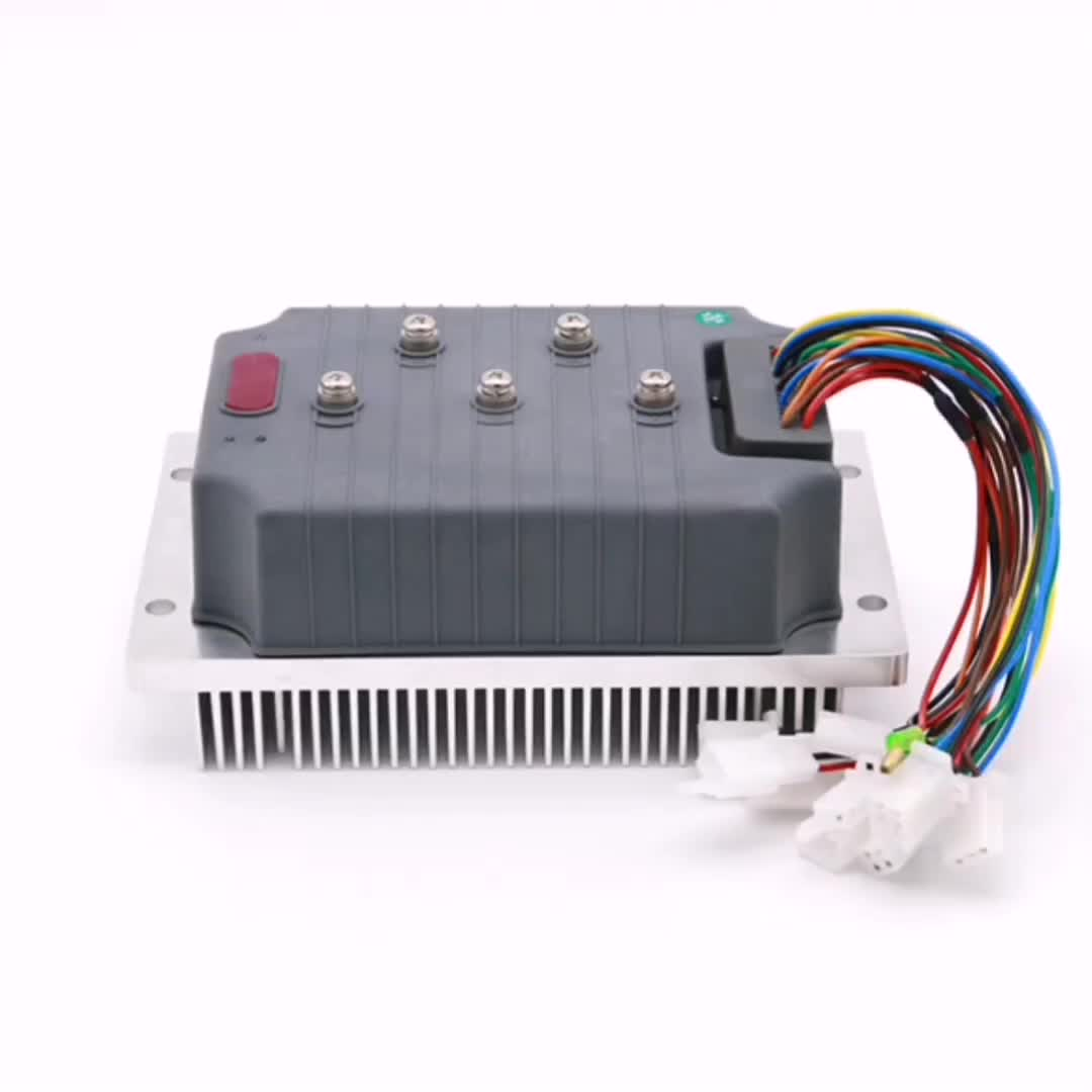 motorcycle brushless intelligent dc motor controller 2kw