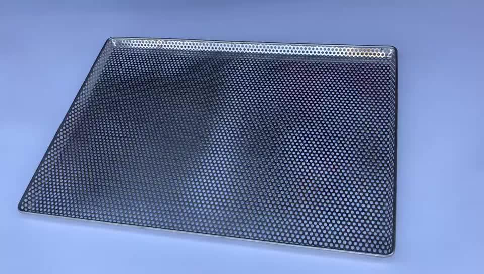 400x600mm cilalı paslanmaz çelik 304 316 kenevir delikli kurutma tepsileri