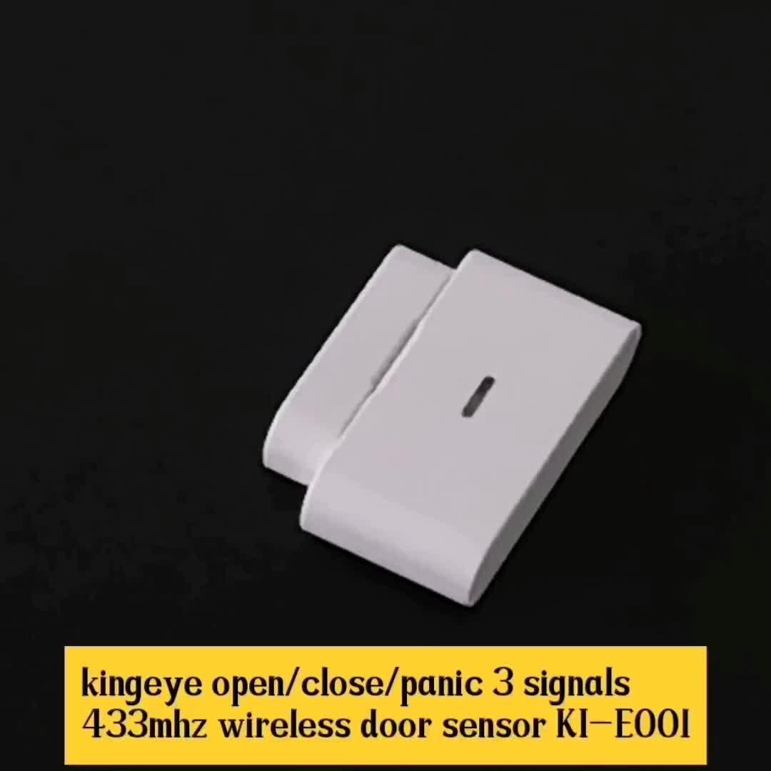 Ucuz fiyat akıllı rf manyetik kontak kapı sensörü kablosuz 433mhz