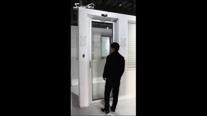 Superhouse new product aluminum glass exit door with push bar