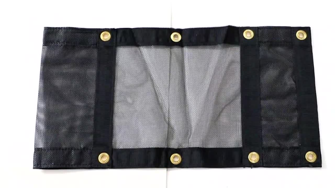 Heavy Duty Waterproof Truck Cover Lumber Tarp With D-ring