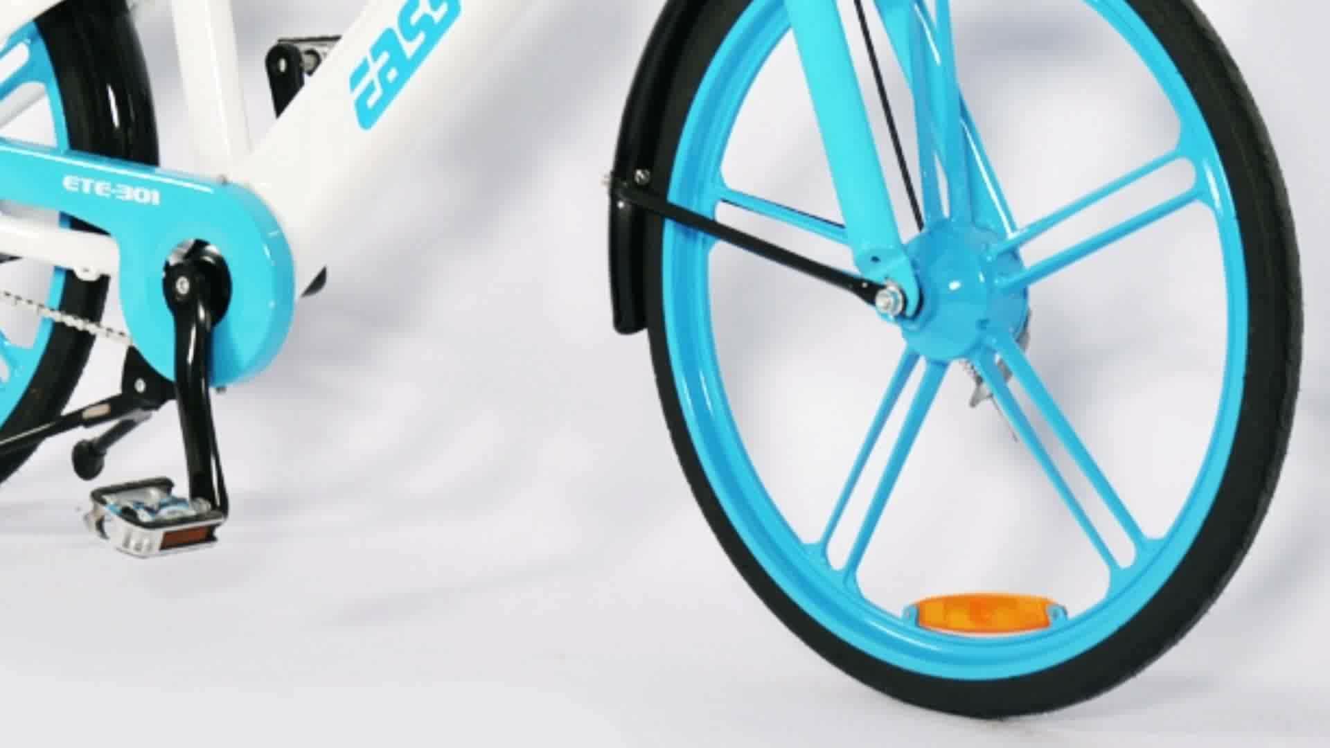 250W 36V 26 inç özelleştirilmiş pedalı yardımcısı şehir bisikleti payı e bisiklet kiralama paylaşımı elektrikli bisiklet