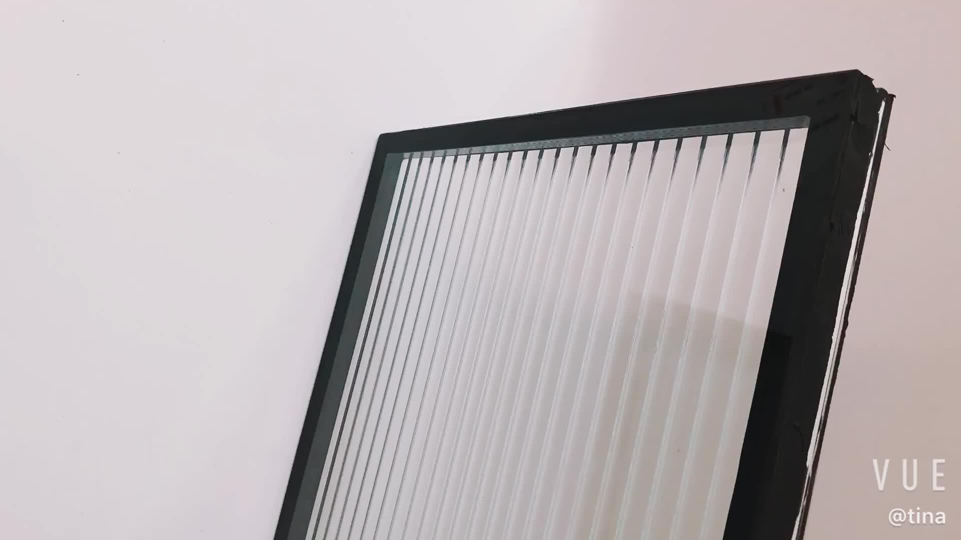 زجاج لامع مزدوج وحدات-الزخرفية منقوشة اتحاد الجغرافي الدولي الزجاج المورد (MORU/ضيق مقصب)