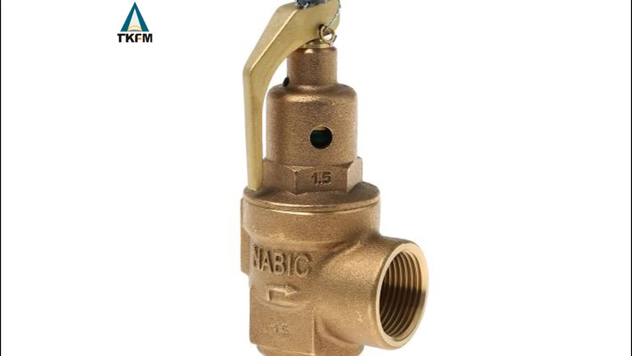 price of pressure stainless steel relief safety valves pn16 dn50 for water heater gas