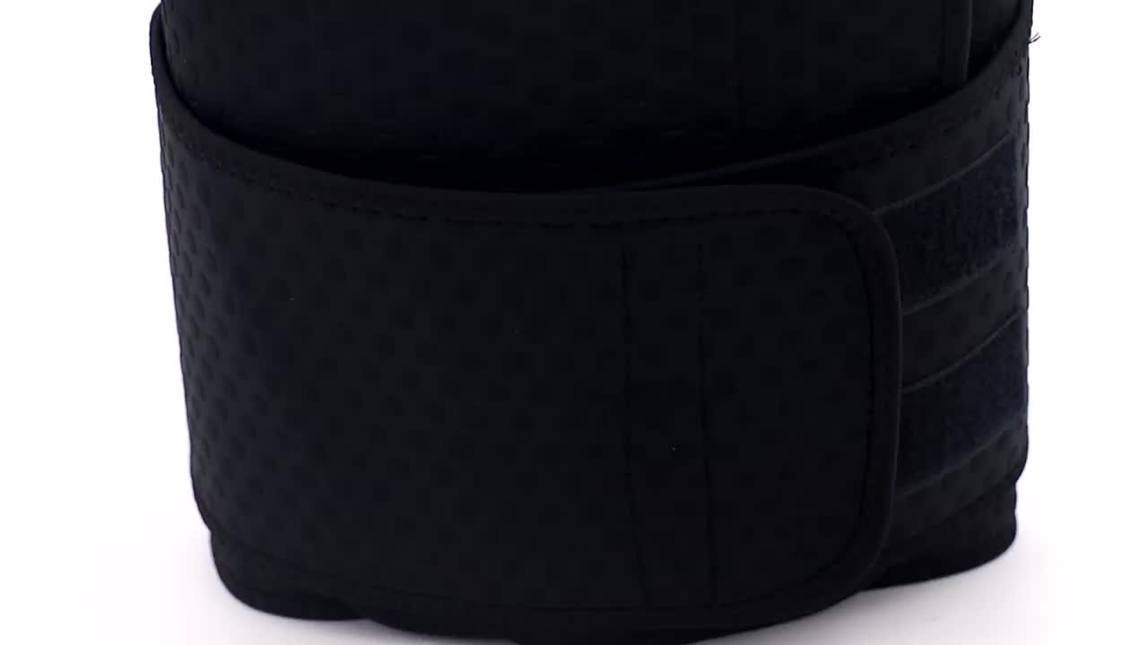 Mens Neoprene Ab Belt Widening Waist Trainer with Double Adjusted Straps for Fitness Weight Loss
