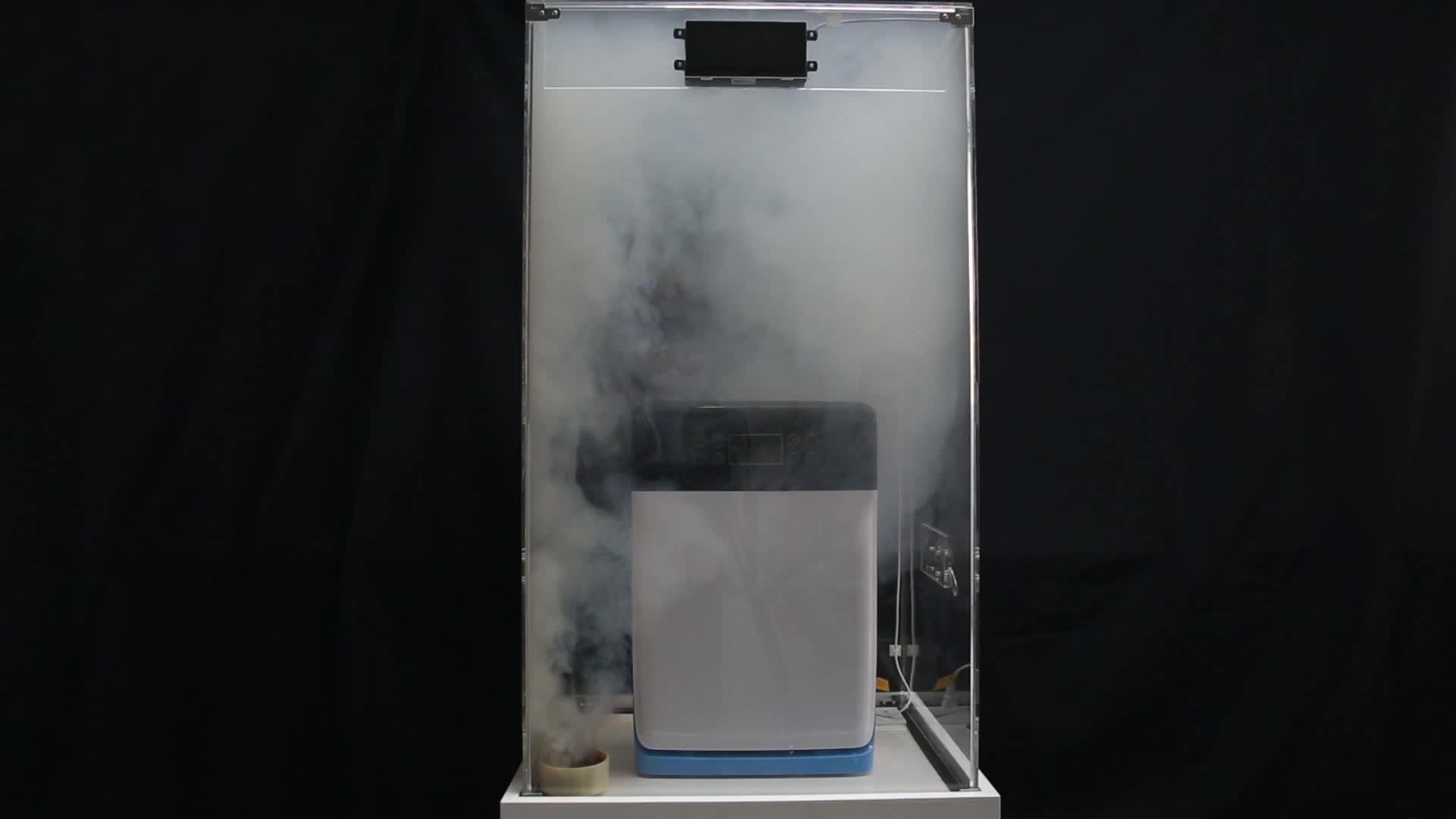 2019 new design green air purifier ionizer Air Purifiers for Smoke for KTV