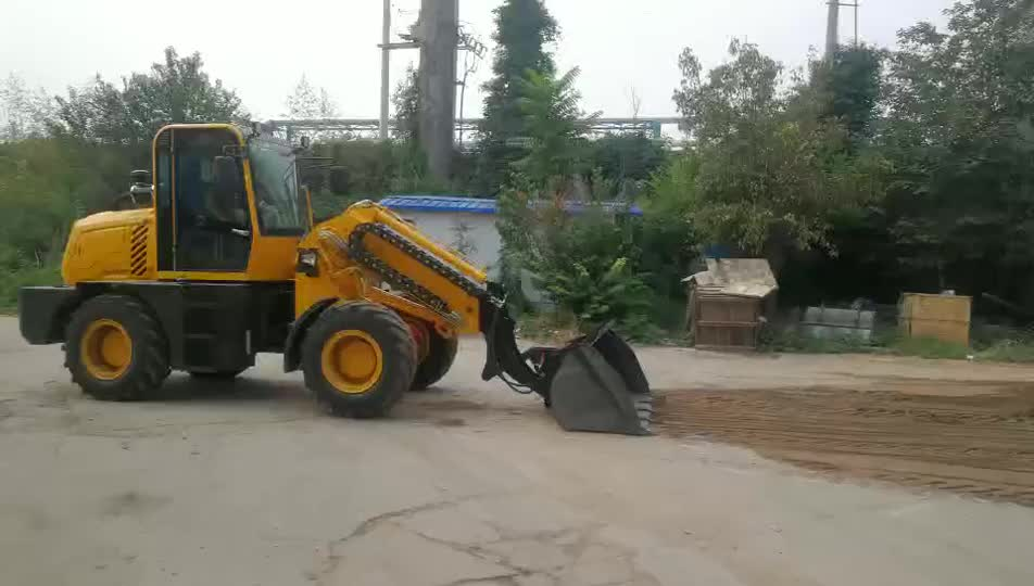 Heracles TL3000 articulated loader telescopic front end loader with telescopic boom