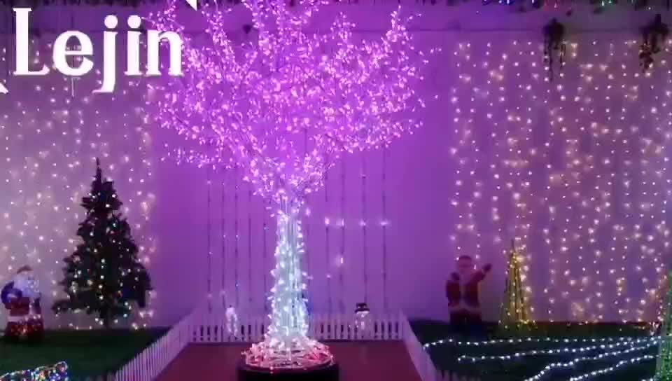 ขายร้อน led สมาร์ท motif ต้นไม้ light สำหรับตกแต่งขนาดที่กำหนดเอง