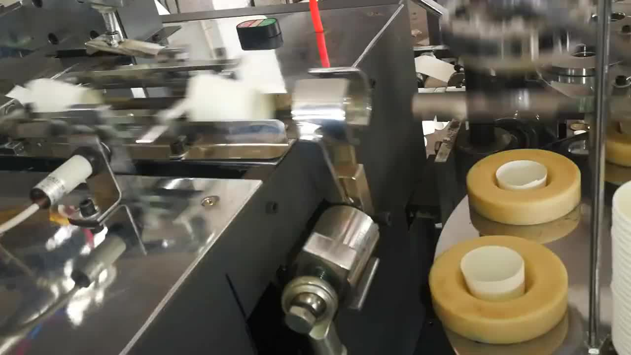 6Kw High Speed Fully Automatic One-Time Paper Cup Machine prices