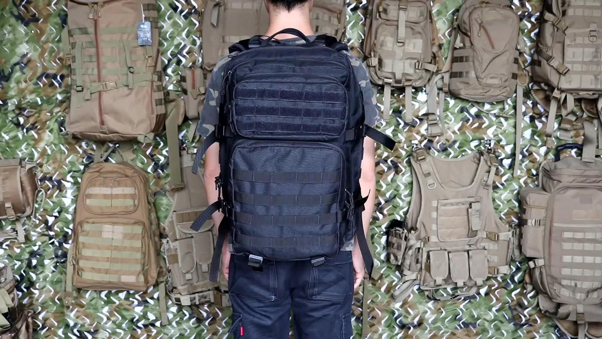 Chenhao 40L Camo molle militaire tactique jour sac à dos de voyage
