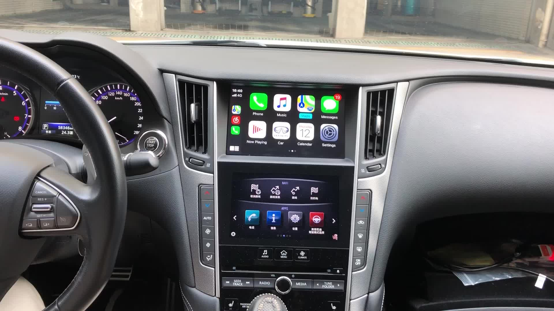 Lsailt Wireless Apple CarPlay &Android Auto Interface For 2014-2019 Lexus GX460 NX ES UX IS CT RX GS LS LX LC RC