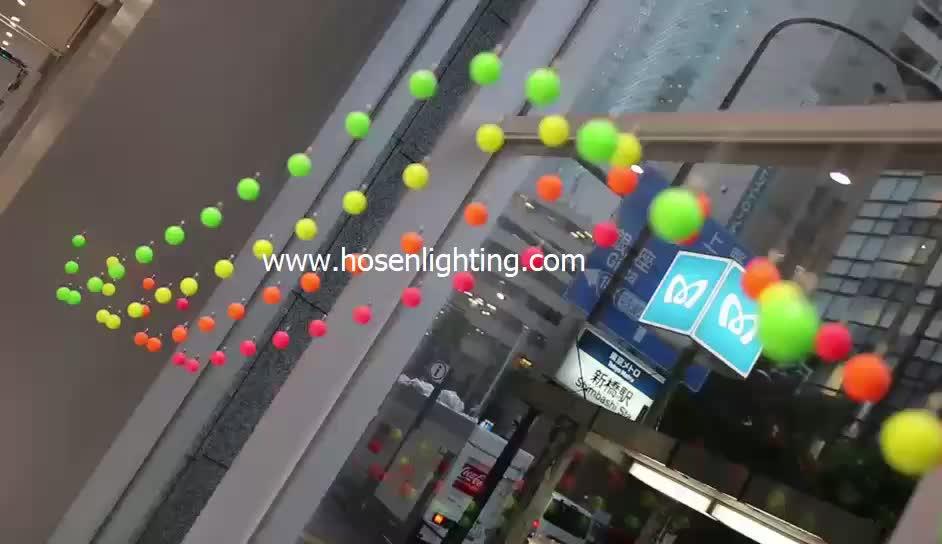 Kinetic smart color ball