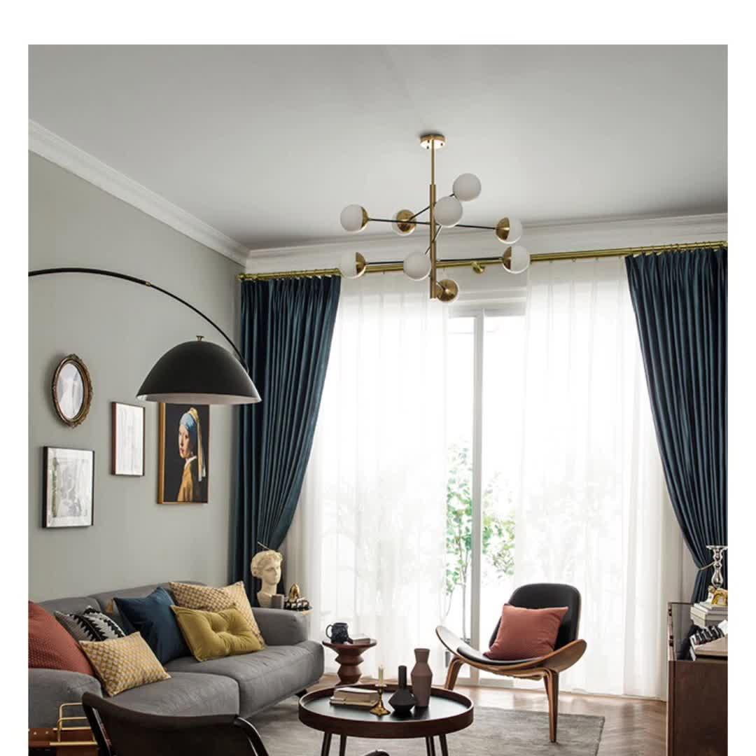 Monad High Quality Soft Plain Multi Color Textile Velvet Sofa Curtain Cushion Fabric For Home