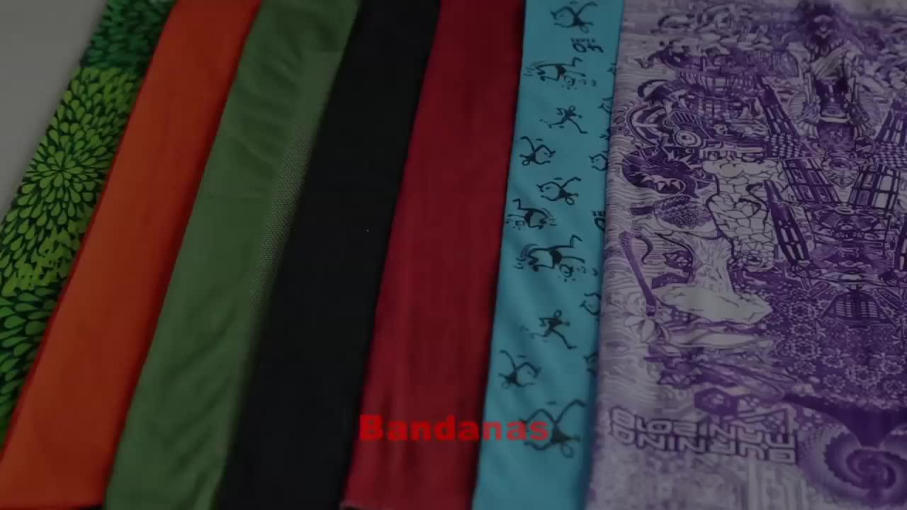 Custom Bandana/Cheap Wholesale Bandana/Seamless Multifunctional Bandana Headwear