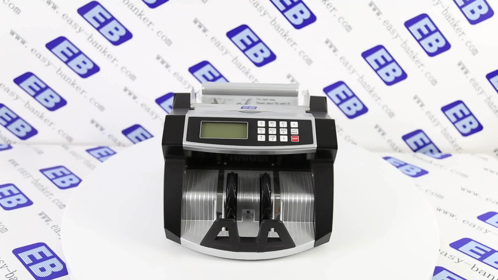 Banknote Counting Machine Detector Money Counter Uv Mg Bill Counter LD-2041