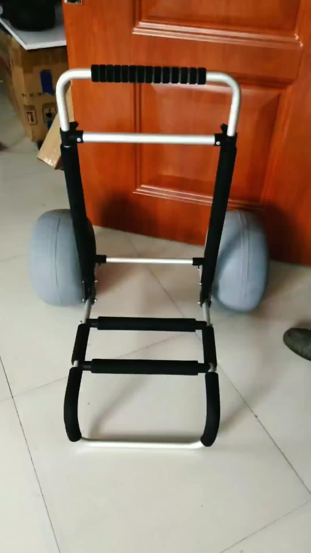YONK nuevas herramientas de uso y plataforma estructura plegable arena carrito de mano carrito para la playa
