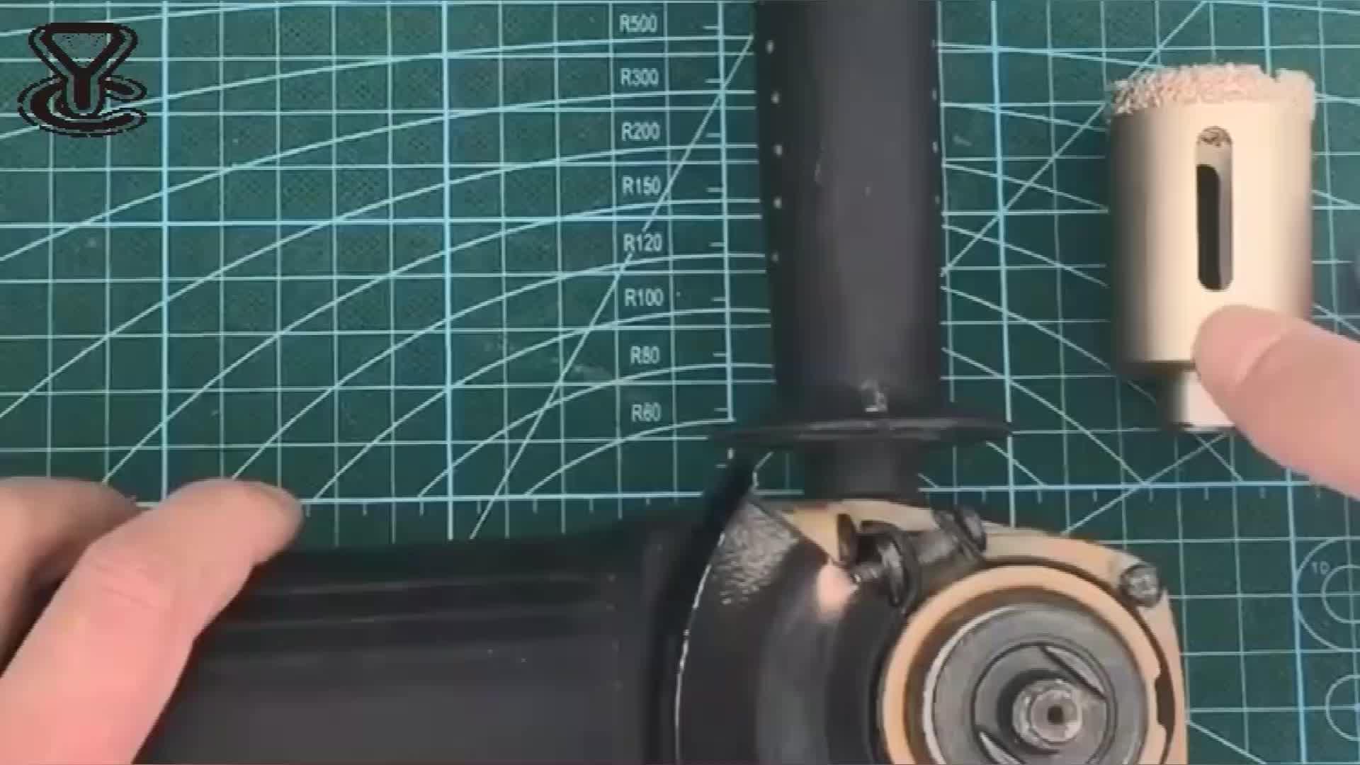 M14 Vuoto Brasato Del Diamante Utensili Da Taglio Bit/Diamante Piastrelle Core Trapani/Punta Di Diamante di Vetro Bit