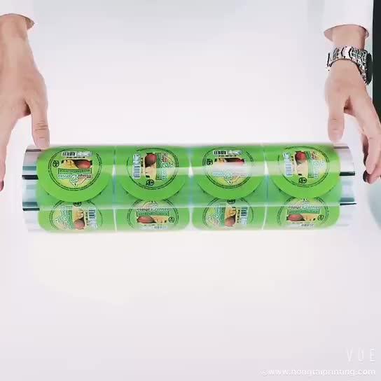 personalizado impresso EVA peelable pp copo filme de vedação