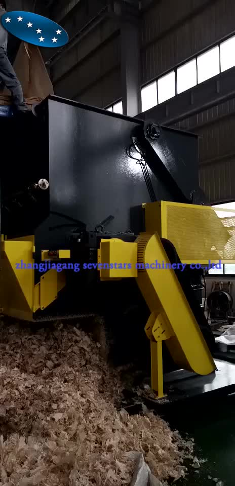 2015 China newest high output and quality one single shaft household waste shredder