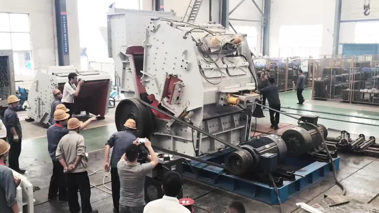 China Belle Impact Crusher Pianta Alta Rapporto di Frantumazione di Pietra Impact Crusher Applicazione In Calcite Frantumazione