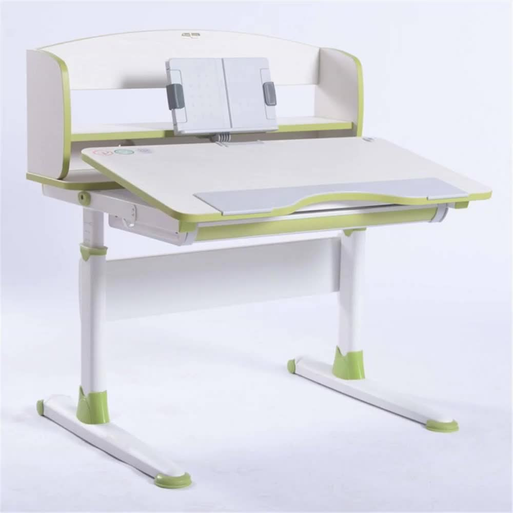 GMYD Kids Height Adjustable Desk Children Study Table