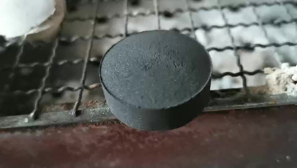 coconut shell tablet round pure charcoal used for shisha