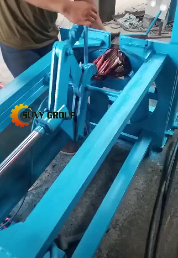 Competitive Price Stator Cutting And Separating Machine