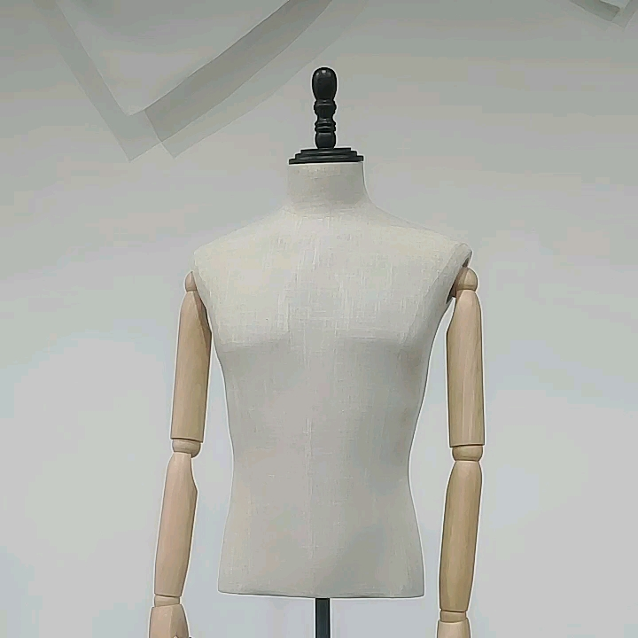 Male Suit Dummy Tailors Display Mannequin Bust