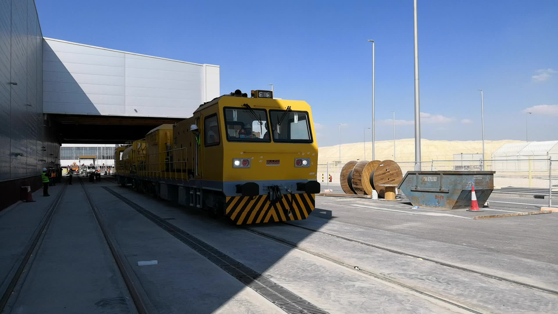 Railteco Customized Railway Tunnel Cleaning Vehicle
