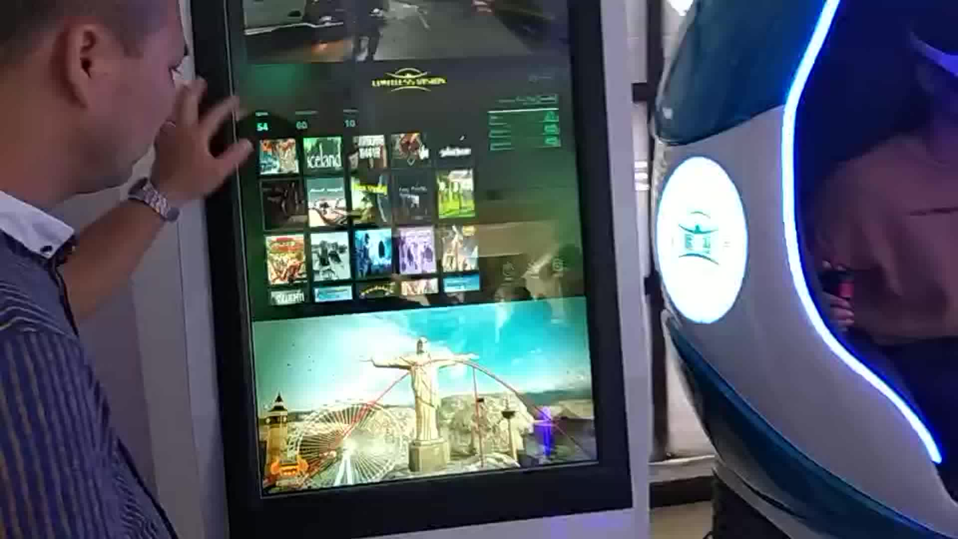 China fabricante 3d jogo adulto cinema 4d com alta qualidade