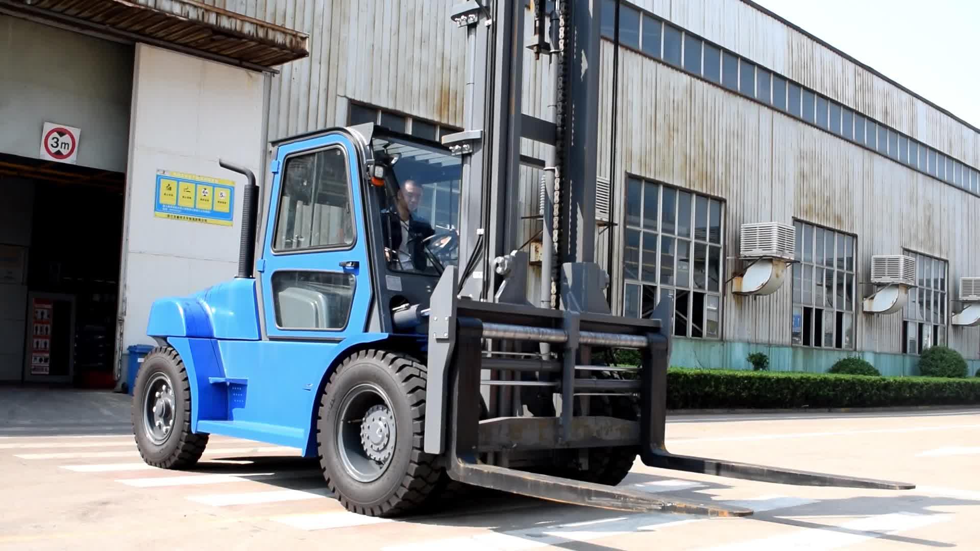 SAFERLIFTSW 10ton Chariot Élévateur Diesel avec Moteur Isuzu Importé/Chariot Élévateur