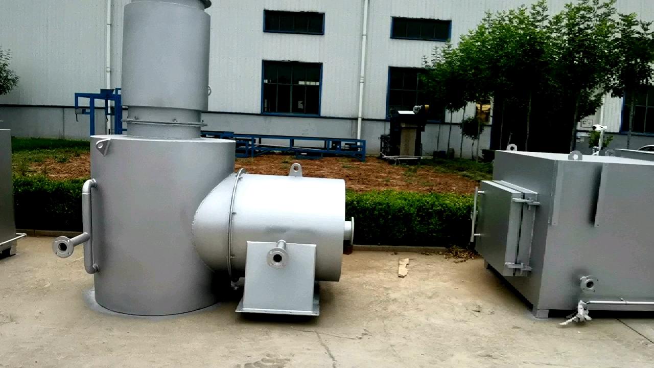 무해한 생리대/고체 폐기물 처리 기계 폐기물 불타는 처리 소각로