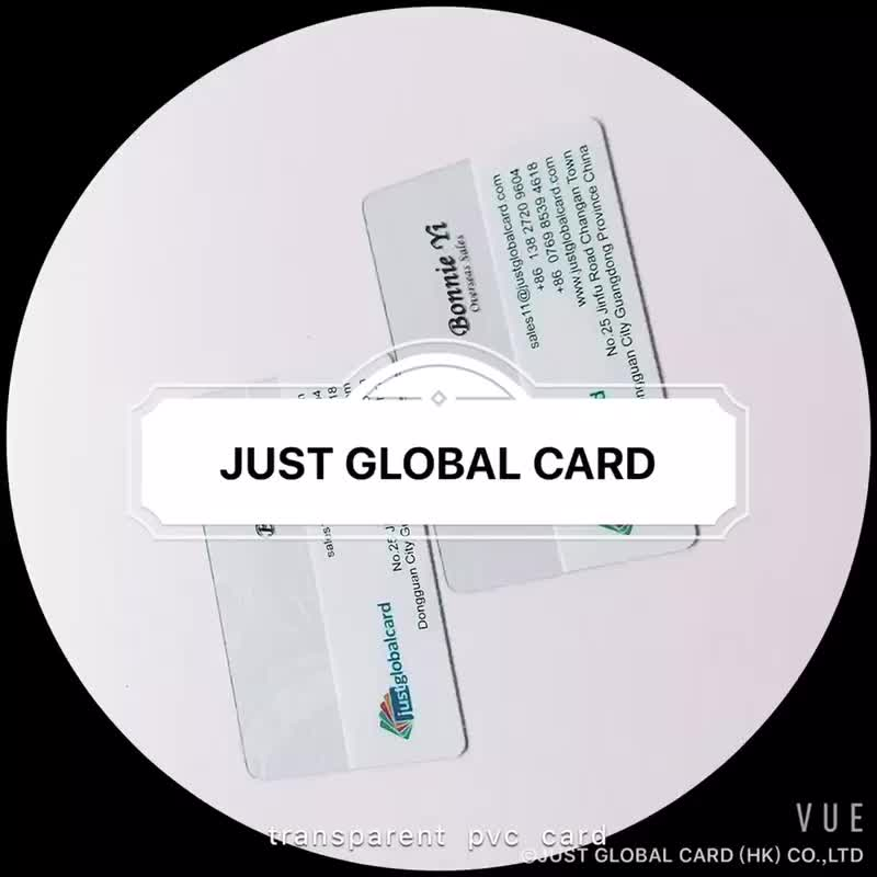 Personnalis Conception En Plastique Transparent Carte Dinvitation Cartes De Visite