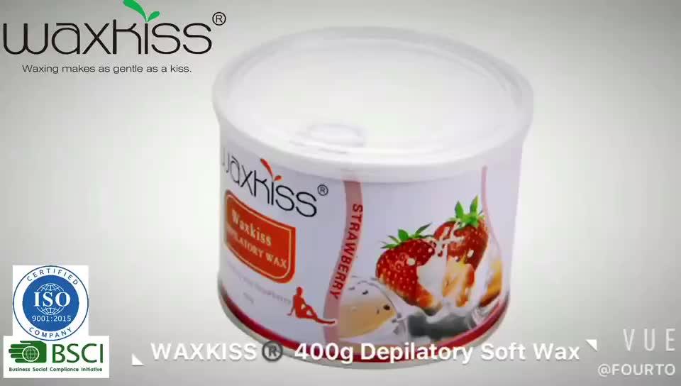 Waxkiss Soft Wax Professionele Ontharing Vet Oplosbare Wax Natuurlijke Ontharing 400G 800G Soft Wax