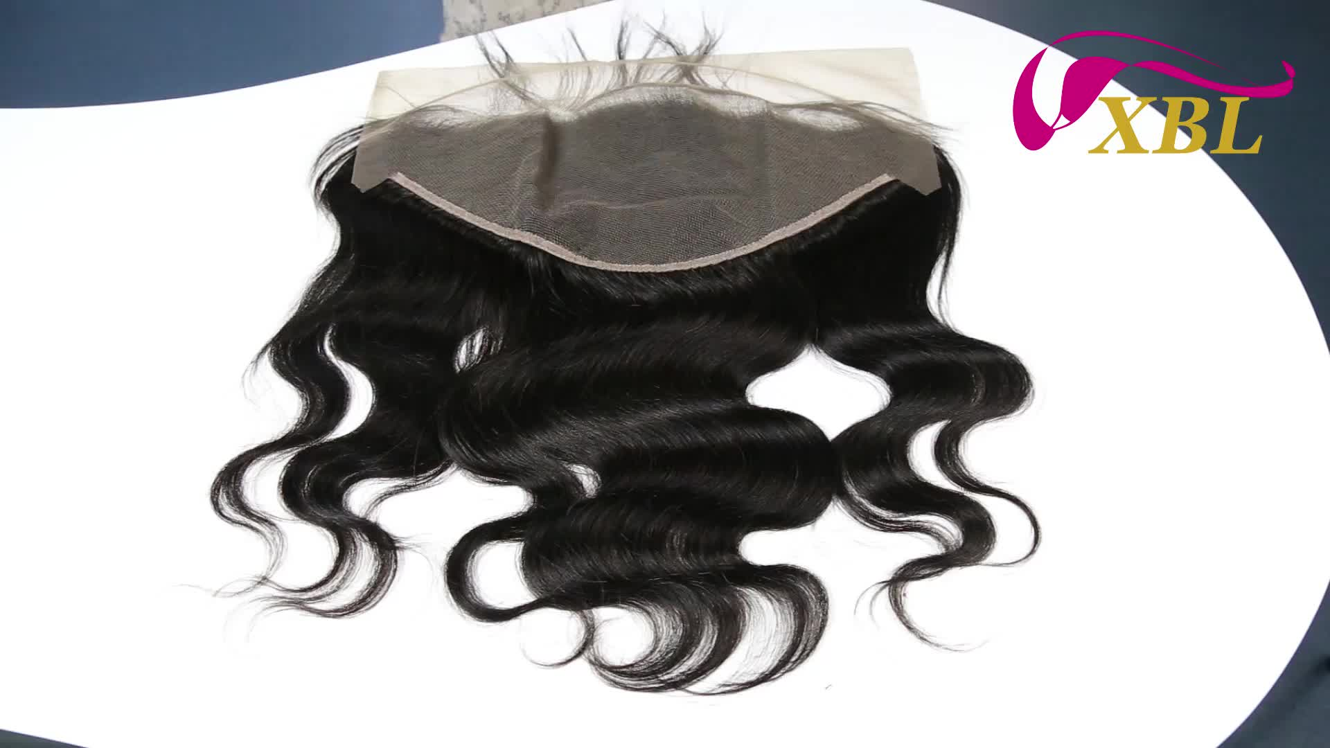 Free Shipping Brazilian Body Wave Swiss Lace Frontal Can be Parted Anywhere Human Hair Lace Frontal 1 Piece