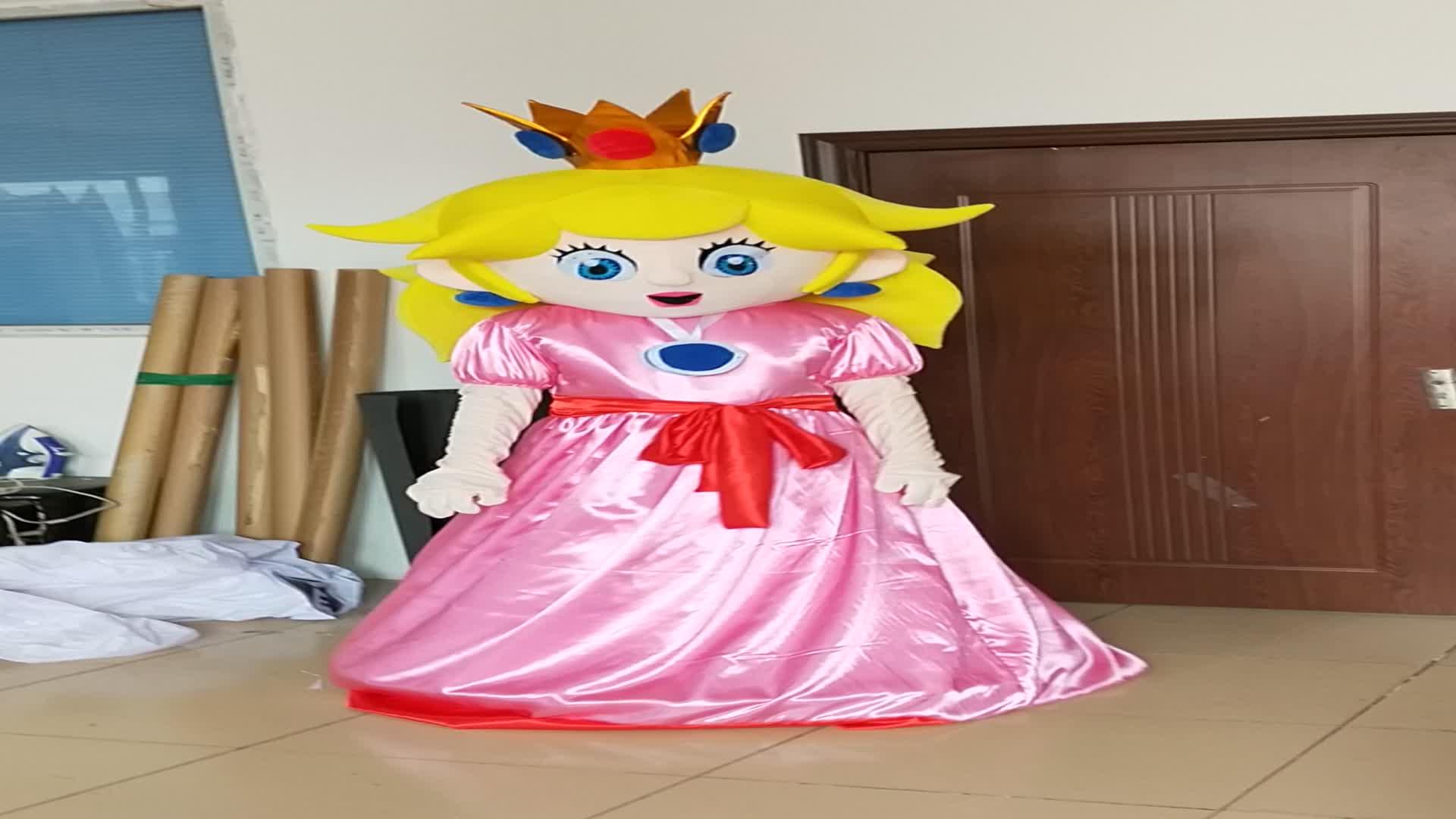 أزياء تميمة للأميرة تيانا لعام 2011 ، أزياء تميمة مصنوعة من الرسوم المتحركة تيانا