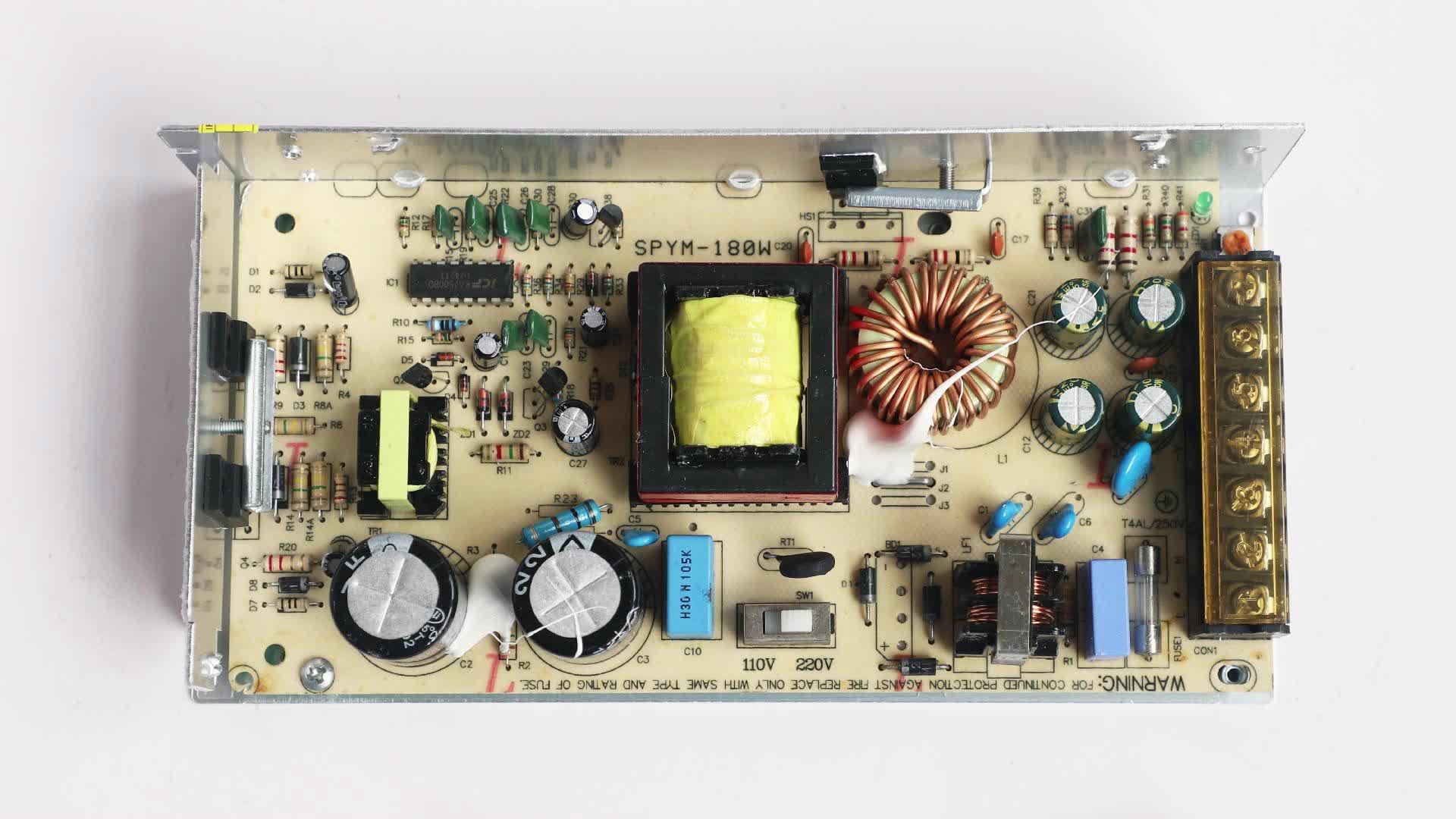 Transformador 110v 18v alimentation dcoupage 18v 5a power supply