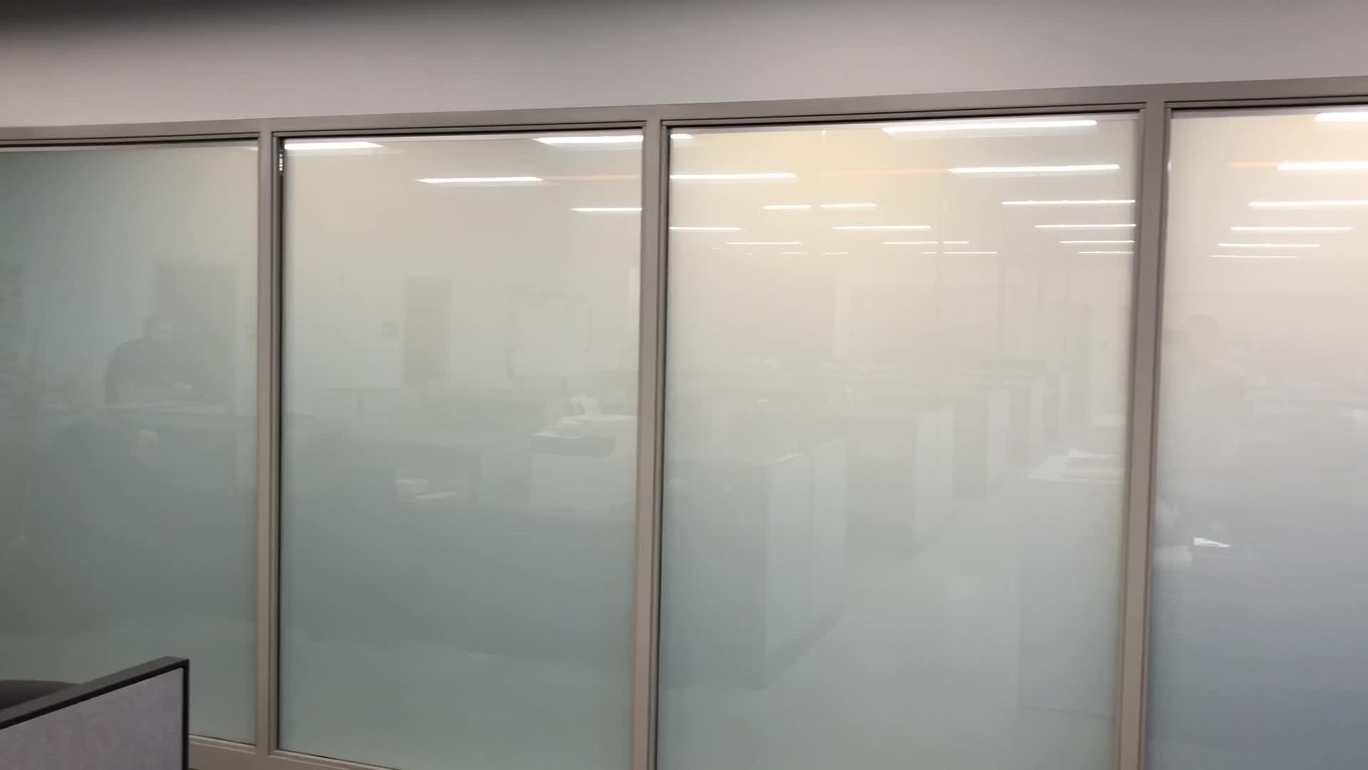 Self adhesive filme PDLC vidro inteligente