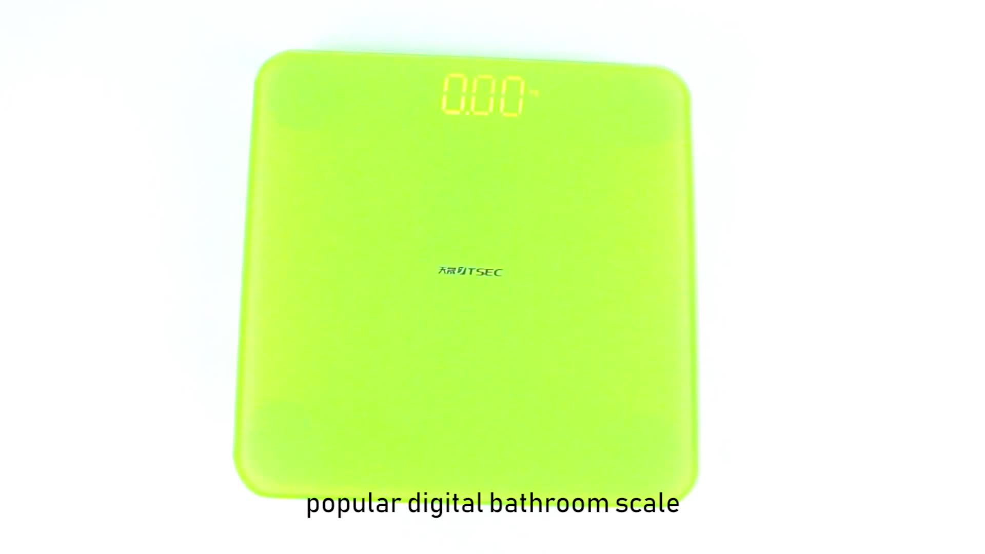 TS-BF8013 Hotselling 200kgs Household Personal BMI Digital Bluetooth Smart Body Weight Scale