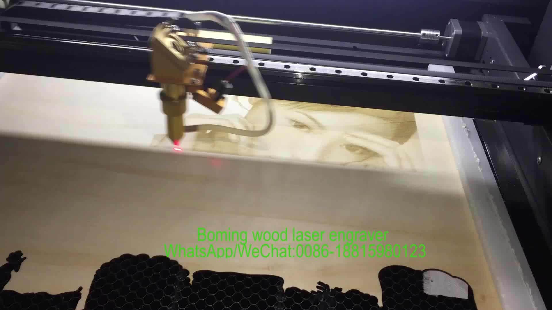アフリカバイヤー 6090 1280 1390 cnc 3d co2 ミニレーザープリンタ彫刻木材ペンゴム発泡