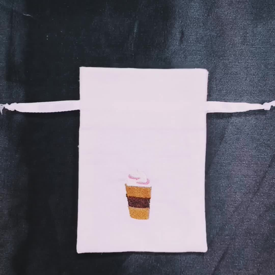 White French Linen Bags with sateen ribbon drawstring Very small linen bags Tiny linen jewelry pouches Jewelry packaging