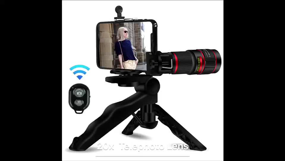 2018 innovative products mobile camera 18X telescope zoom lens phone for import