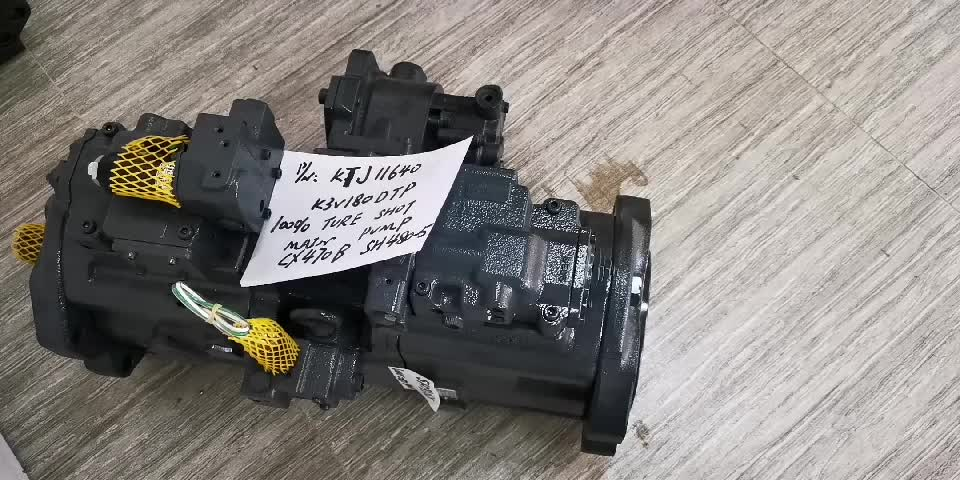 KTJ11640 K3V180DTP MAIN PUMP FOR CX470B SH480-5
