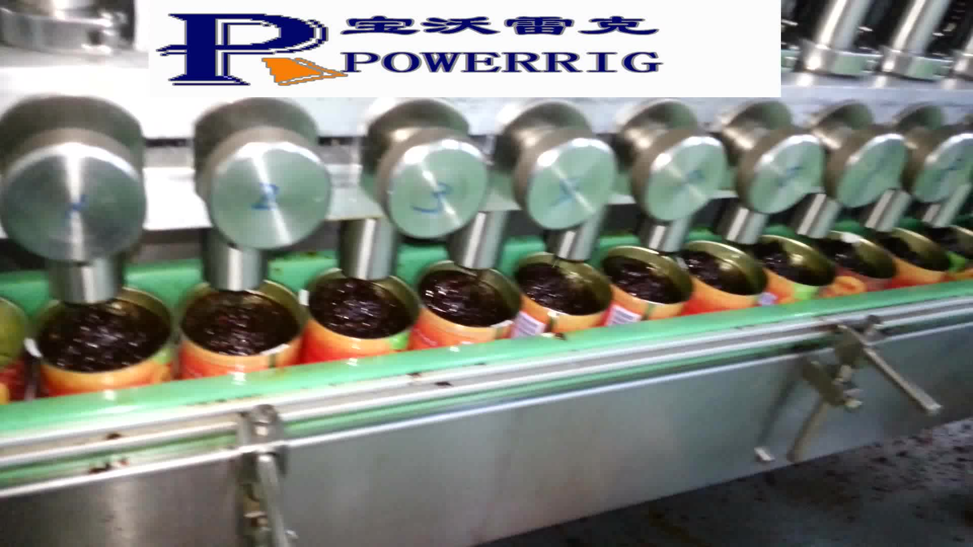 Automatic food grade fish sauce jar filling capping machine production line for fruit jam filling