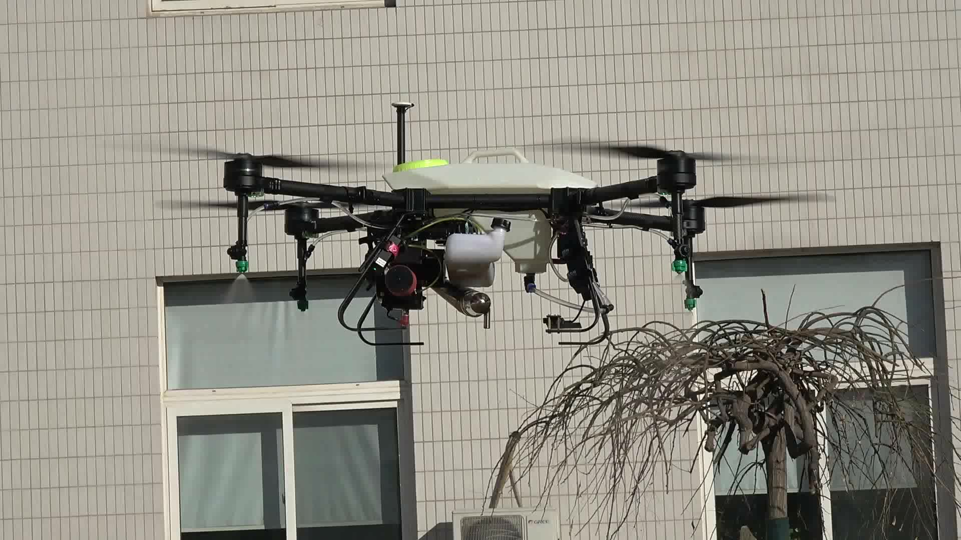 NEW professional agriculture drone pesticide spray 10L hybrid uav sprayer with Radar Terrain Following System